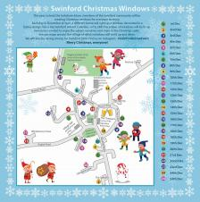 Swinford Christmas Windows - December 2020